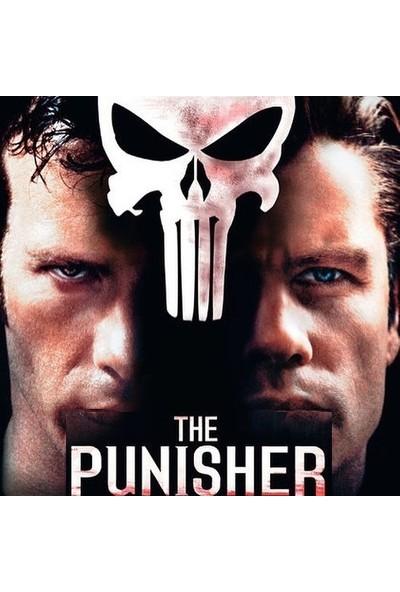 VipBT Marvel The Punisher Skull Kurukafa Erkek Cosplay Kolye