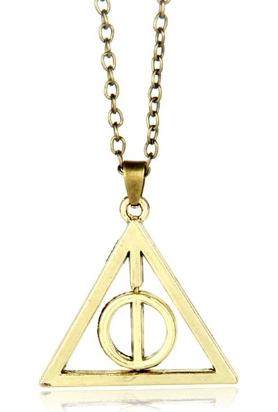 Vipbt Tr32968974636B Harry Potter Ölüm Yadigarları Üçgen Cosplay Kolye