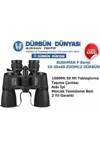Bushman P10-30x60 Zoomlu Dürbün