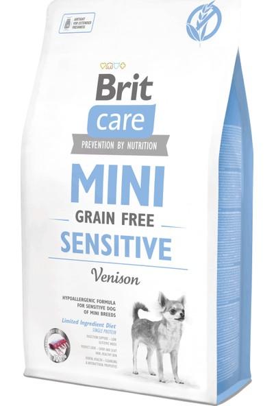 Brit Care Tahılsız Mini Hassas Geyikli Köpek Maması 2 kg