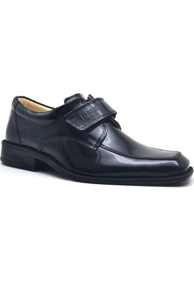 Raker Barak Rugan Cırtlı Klasik Erkek Çocuk Sünnet Ayakkabı