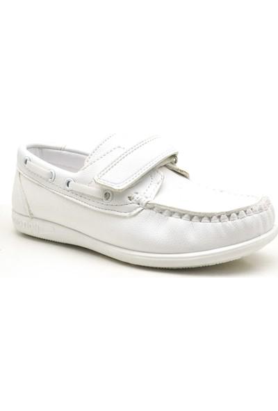 Raker Feniks Beyaz Cırtlı Günlük Yazlık Erkek Çocuk Ayakkabı