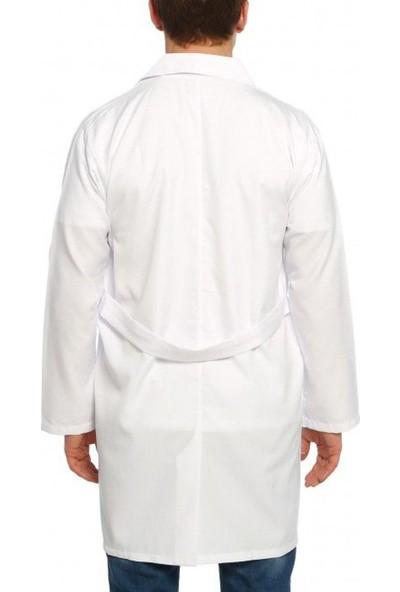 Mete Ilgın Erkek Doktor Öğretmen Laboratuar Önlük Beyaz