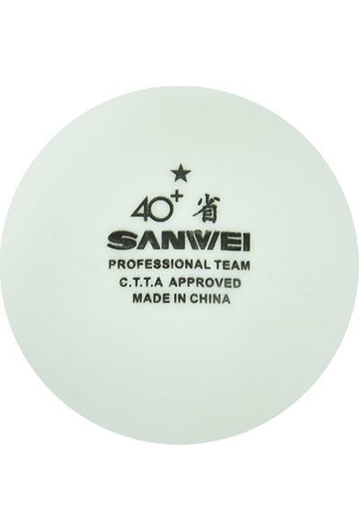 Sanwei ABS 1 Yıldız ITTF Onaylı 100 lü Masa Tenisi Antrenman Topu
