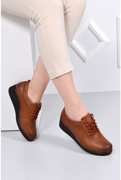 Gön Deri Kadın Ayakkabı 36019