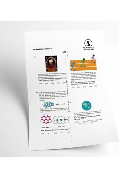 DokuzAltı Yayınları Problemlerle Mix Kitap - Matematik Soru Bankası