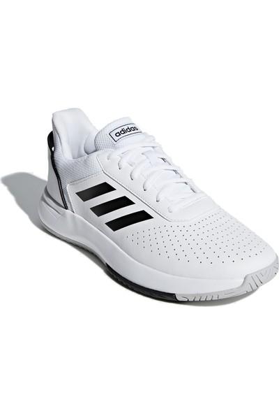 Adidas Erkek Tenis Ayakkabısı Spor Beyaz F36718 Courtsmash