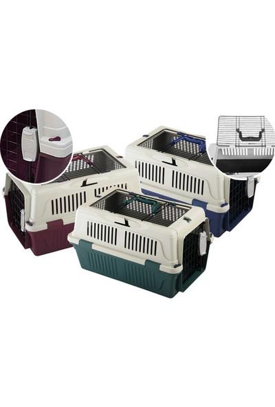 Strong CD2 Üstten Açılabilir Kedi&Köpek Taşıma Çantası Bordo 50x33x29cm