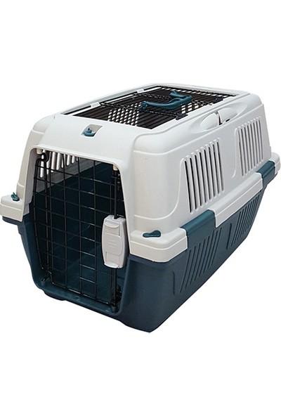 Strong CD2 Üstten Açılabilir Kedi&Köpek Taşıma Çantası Yeşil 50x33x29cm