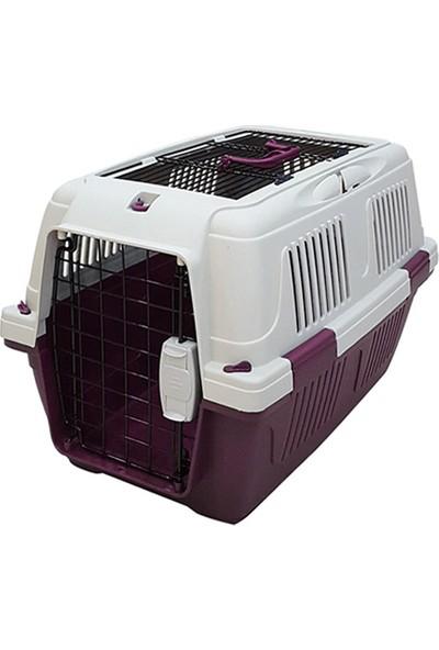 Strong CD4 Üstten Açılabilir Kedi&Köpek Taşıma Çantası Bordo 63x41x40cm
