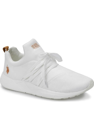 U.S. Polo Assn. Tork Beyaz Erkek Sneaker Ayakkabı