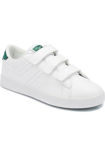 Kinetix Suprem Velcro W Beyaz Yesil Kadın Sneaker