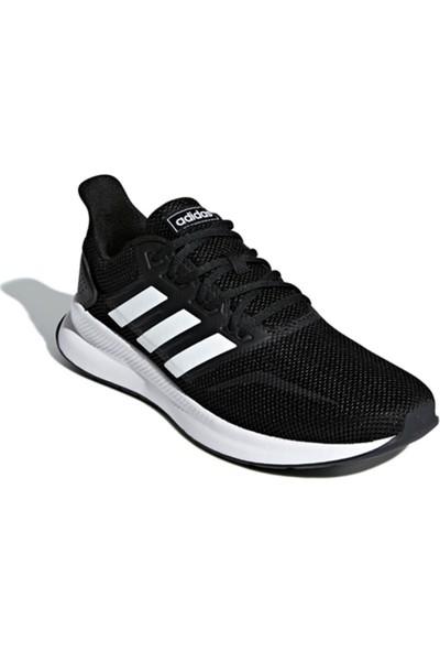 Adidas Runfalcon Siyah Beyaz Erkek Koşu Ayakkabısı