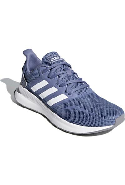 Adidas Runfalcon-- Lila Beyaz Kadın Koşu Ayakkabısı