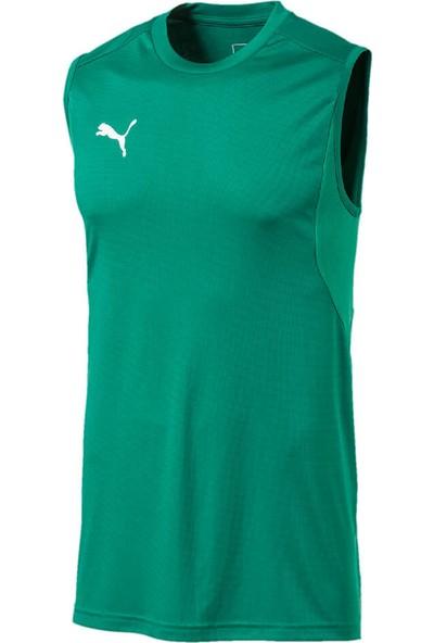Puma Liga Training Jersey Yeşil Erkek Kolsuz T-Shirt