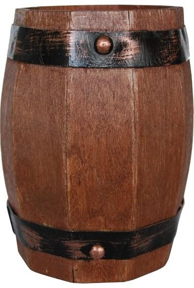 Aden Ahşap Kumbara Fıçı Tasarımlı Ürün Ölçüleri: 17*15*11 cm Büyük Boy