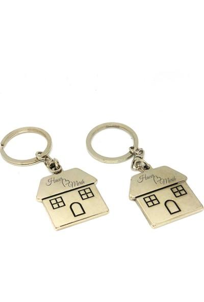 Ayd Çiftlere Özel Anahtarlık 2 Adet İsim Kazımalı Anahtarlık