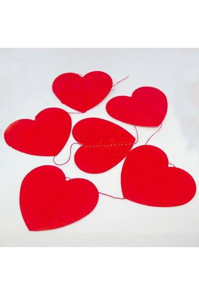 Ayd Kırmızı Kalp Temalı Banner Flama