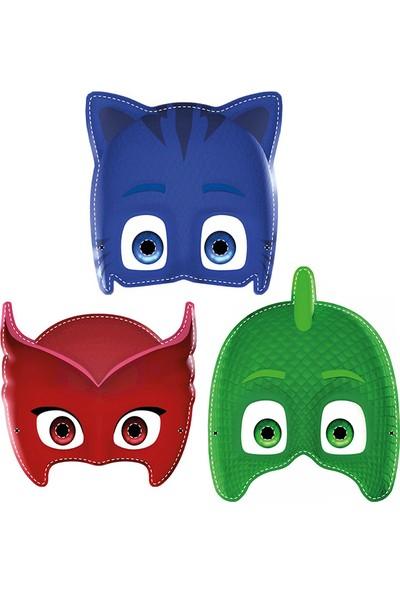 Parti Bulutu Pijamaskeliler lisanslı Kağıt Maske