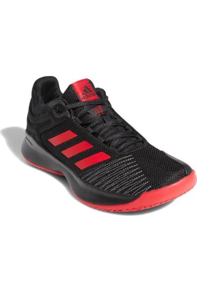 newest fb009 a6c34 Adidas Pro Spark 2018 Low Siyah Bordo Gri Erkek Basketbol Ayakkabısı