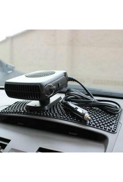 Fan Oto Araç Isıtıcı Cam Buğu Çözücü Çakmaklık Girişli 12 V