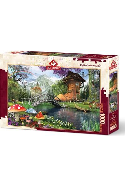 Art Puzzle Postal 1000 Parça Puzzle