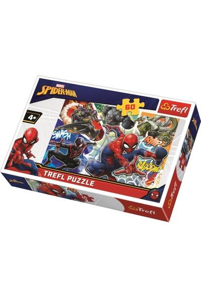 Trefl 17311 Brave Spiderman 60 Parça Puzzle