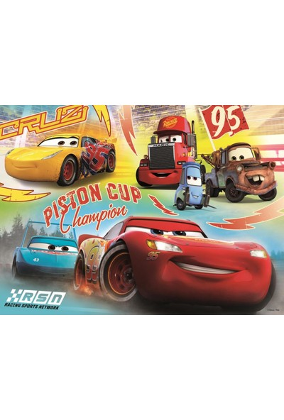 Trefl 30 Parça Cars 3 Champion Team Disney Puzzle