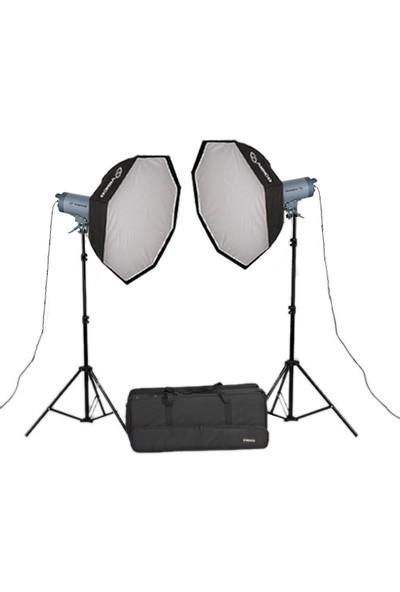 Visico Vc-600Hs Ttl 2'Li Paraflaş Seti (Nikon)