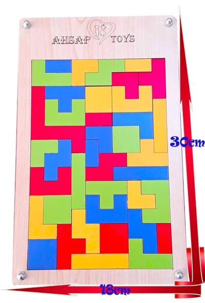 Ahşap-Renkler Ve Şekiller-Montessori Serisi-2