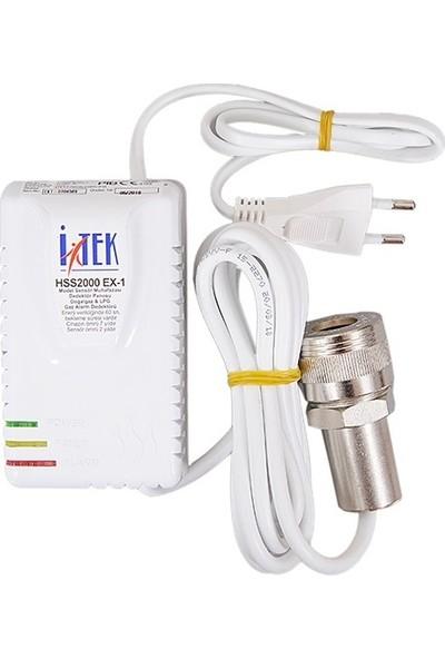 İtek Hss2000 Ex-1 Model Exproof Gaz Alarm Cihazı