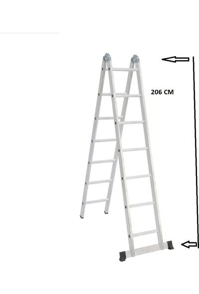 Beykon 7+7 Katlanabilir Alüminyum Merdiven