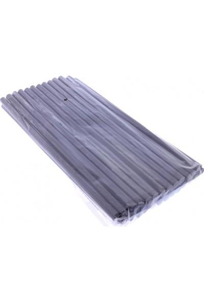 Winnboss Sıcak Silikon Mum Çubuk Siyah - Kalın 11X300Mm 1 Kg