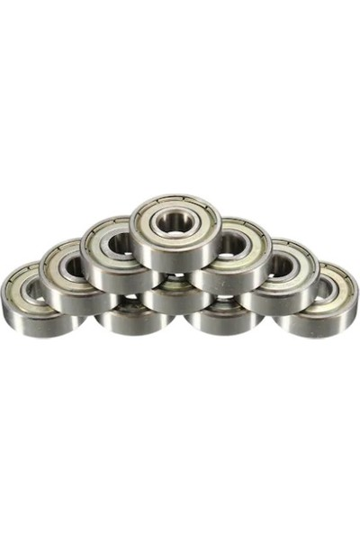 Hr 608 Zz (Çelik Kapaklı) 8X22X7 Rulman 10 Adet