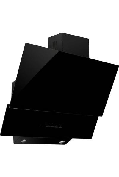 CVS DN 1157 2 Cam Eğimli Digital Davlumbaz Siyah Dokunmatik Panel