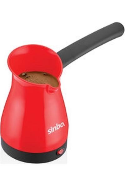 Sinbo SCM 2951 Elektrikli Kahve Makinesi Cezve Kırmızı