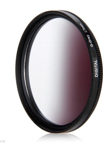 Dhd Canon 18-135mm Lens için 67mm Kademeli Degrade Grey Gri Nd Efekt Filtre