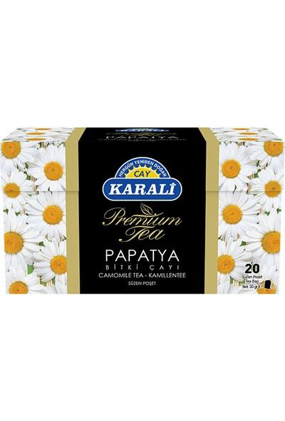 Karali Premium Bardak Poşet Papatya Çayı 20'li