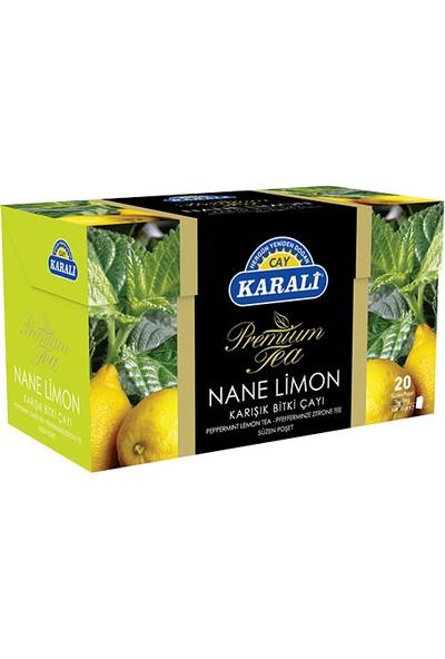 Premium Bardak Poşet Nane Limon Çayı 20'li