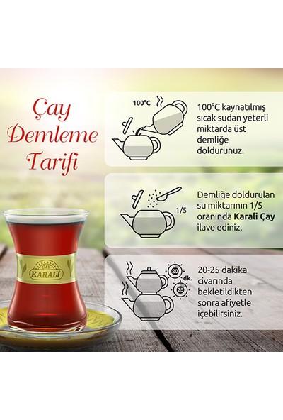Karali Tiryaki Dökme Çay 5 kg