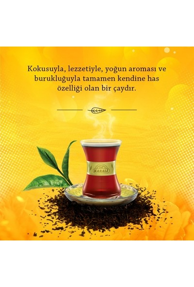 Karadeniz Demlik Poşet Siyah Çay 48x3,2 gr