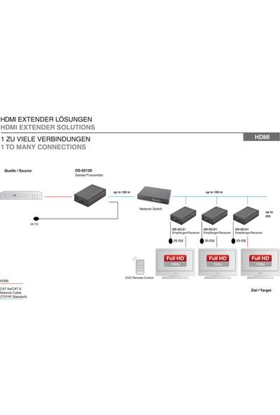 Digitus DS-55120 - IP HDMI Sinyal Uzatma Cihazı