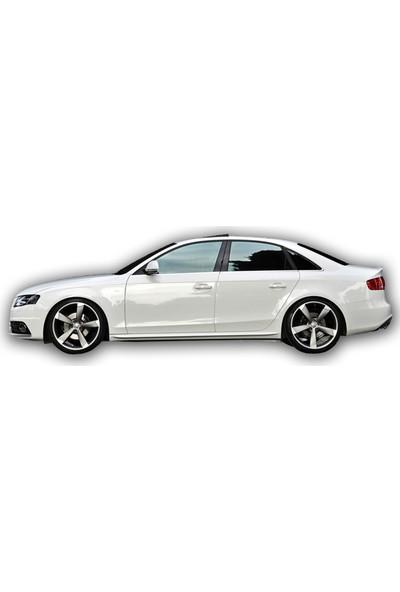 Audi A4 S Line Yan Marşpiyel (Fiber)