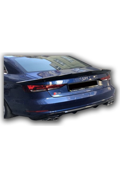 Audi Rs3 3 Parça Bagaj Üstü Spoiler