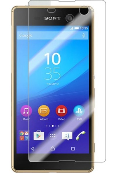 Simex Sony Xperia M5 Cam Ekran Koruyucu
