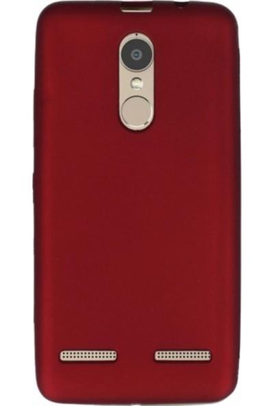 Jopus Lenovo K6 Mat Premium Silikon Kılıf + Cam Ekran Koruyucu