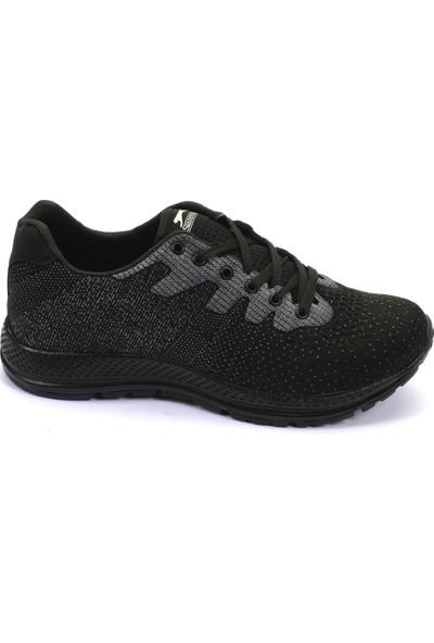 Slazenger Anakın Koşu & Yürüyüş Erkek Ayakkabı Siyah