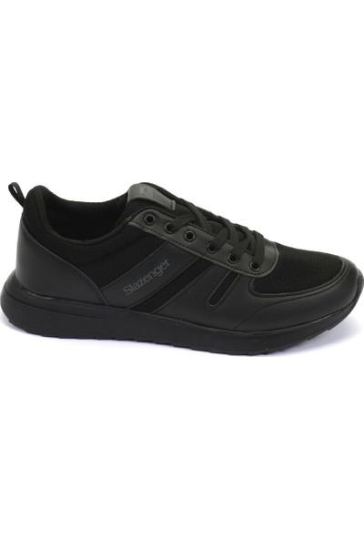 Slazenger Bıshop Koşu & Yürüyüş Erkek Ayakkabı Siyah