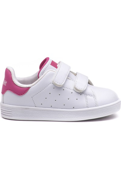 Slazenger Fuat Günlük Giyim Çocuk Ayakkabı Beyaz / Pembe