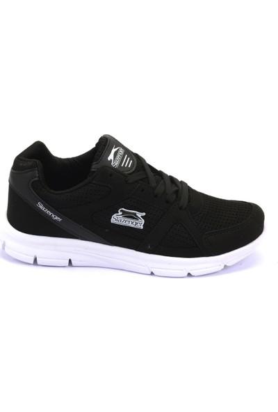 Slazenger Pera Koşu & Yürüyüş Erkek Ayakkabı Siyah / Beyaz